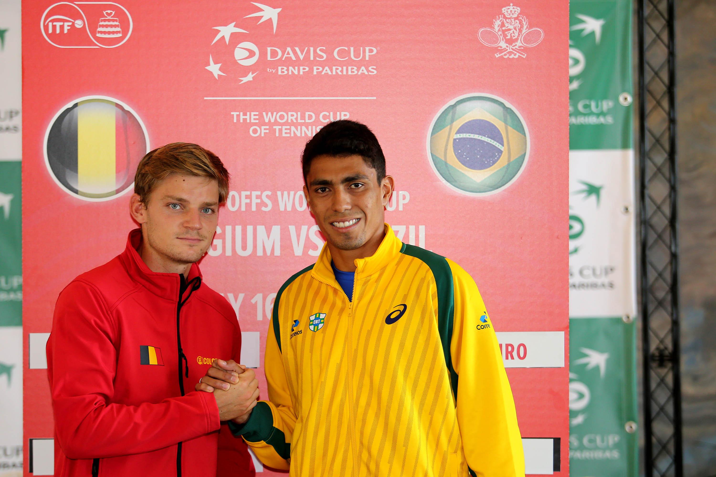 Brasil vai receber a Bélgica no qualificatório da Copa Davis 2019