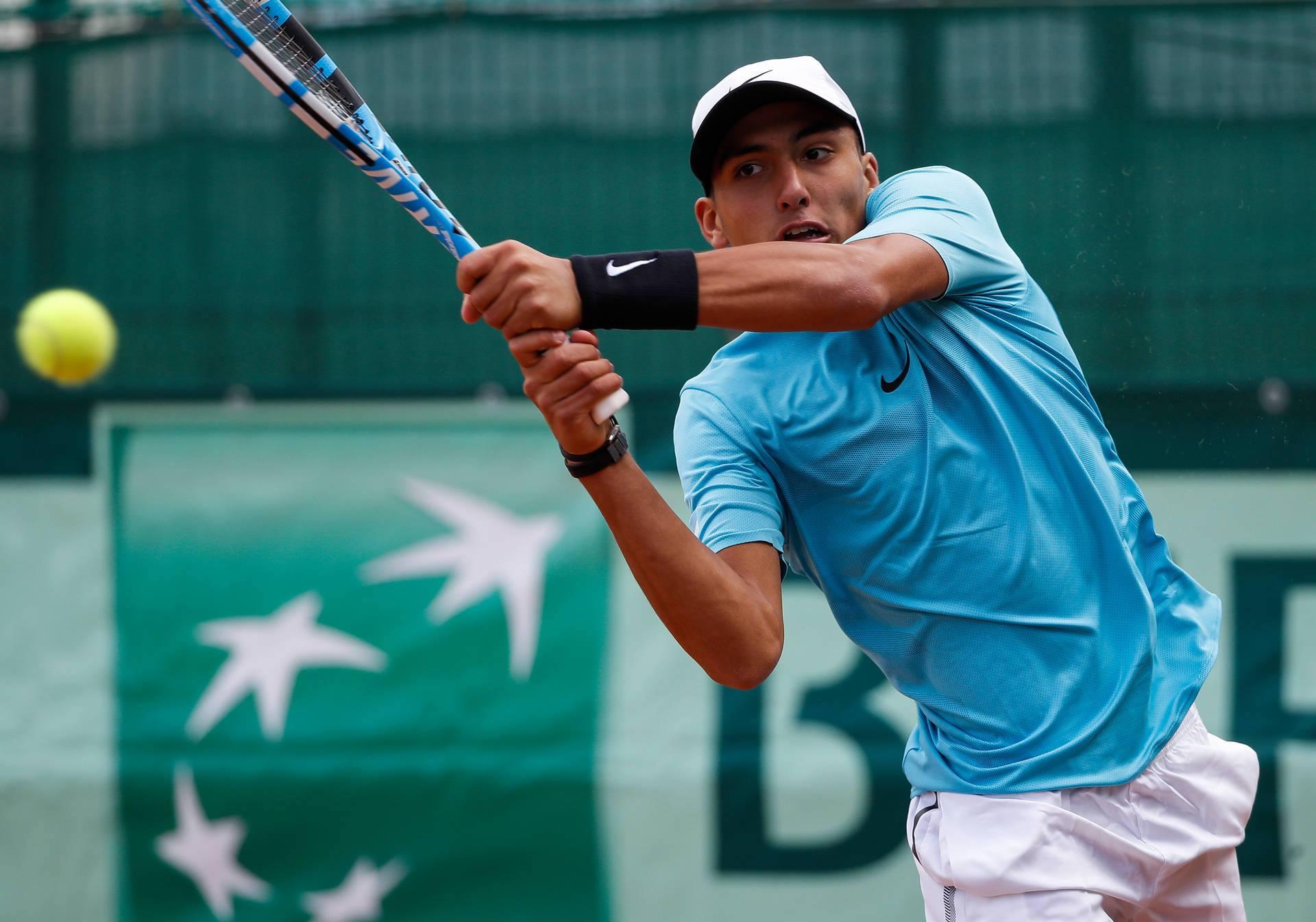 Filho de herói argentino na Copa-86 tenta repetir sucesso no tênis